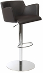 Sunny Bar/Counter Chair in Brown [17621BRN-FS-ERS]