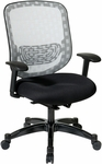 Space Executive DuraFlex with Flow-Thru Technology™ Back and Mesh Seat Chair - Black [829-3R1C728P-FS-OS]
