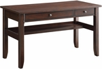 Inspired By Bassett Hainsworth Writing Desk Pullout Keyboard Shelf and Charging Drawer - Java [BP-HSWD52-W8-FS-OS]