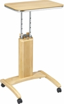 OSP Designs Precision Adjustable Laptop Stand with Casters - Maple [PSN621-FS-OS]