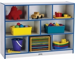 Rainbow Accents Super-Sized Mobile Storage Unit with Eight Cubbies [2691JCWW003-JON]