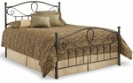 Sylvania Dynamic Style Metal Bed with Frame - King - French Roast [B11776-FS-FBG]