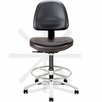Tec Line Cleanroom and ESD Class 100 Tall Height Stool [SP1318-680-FS-DV]