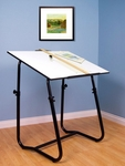 Tech Height Adjustable 42''W x 30''D Drafting Table [35077-FS-SDI]