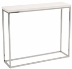 Teresa Console Table in White [09803WHT-FS-ERS]
