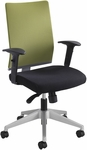 Tez™ High Back Manager Chair without Headrest - Wasabi [7031WA-FS-SAF]