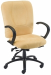 Titan 27'' W x 26'' D x 42'' H Adjustable Height High-Back Chair with Executive Control [E-96884-FS-EOF]