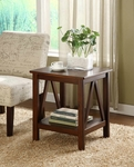 Titian End Table - Antique Tobacco [86153ATOB-01-KD-U-FS-LIN]