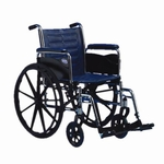 Tracer EX2 16 x 16 Removable Full Arms Wheelchair - 23.25''W X 31.86''D X 34''H [TREX26RFP-FS-CARE]