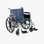Tracer IV 24 x 18 Full Length Fixed Height Conventional Arms Wheelchair - 24''W X 18''D [T424RFAP-FS-CARE]