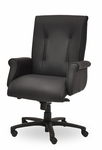 Traditional 300 Series Tufted Medium Back Single Shift Swivel Tilt Chair [TT201-E21-FS-SEA]