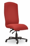 Traditional 400 Series Plain High Back Multiple Shift Quick Set Back Height Task Chair [TP310-Q32-FS-SEA]