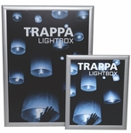 Trappa Light Box 02 with Silver Frame [LED-SNAP-02-FS-OR]