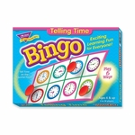 Trend Enterprises Bingo Telling Time Game - 3 -36 Players - 36 Cards/Mats [TEP6072-FS-SP]