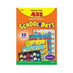Trend Enterprises School Days Stickers - Acid -free - Nonto x ic - 432 Stickers [TEP63901-FS-SP]
