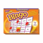 Trend Enterprises Synonyms Bingo Game - 3 -36 Players - 36 Cards/Mats [TEP6131-FS-SP]