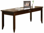 kathy ireland Home™ Tribeca Loft Collection 64''W x 29''H Writing Table - Burnt Umber Cherry [TLC384-FS-KIMF]