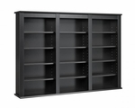 Triple Wall Mounted Storage with 7 Adjustable Shelves [BFW-0523-FS-PP]