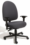 Triton Max Large Back Desk Height Chair with 500 lb. Capacity - 4 Way Control [TMLD4-FS-CRA]