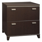 Tuxedo 2 Drawer Lateral File Cabinet - Mocha Cherry [WC21854-FS-BHF]