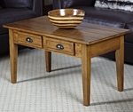Favorite Finds 38''W x 20''H Coffee Table with Two Drawers - Candleglow [9014-FS-LCK]