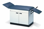 Two-In-One Examination/Treatment Table with Fully Enclosed Cabinet - 24''W X 41 - 72''L X 31''H [HAU-4643-FS-HAUS]