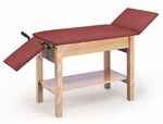 Two-In-One Examination/Treatment Table with Shelf - 24''W X 31''H [HAU-4624-FS-HAUS]
