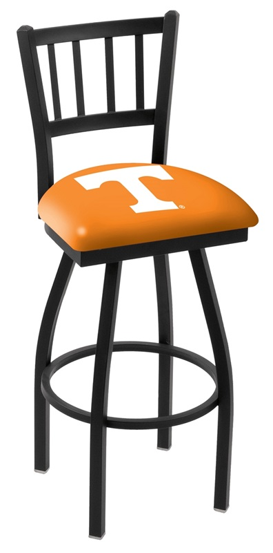 University of Tennessee 25 Black Wrinkle Finish Swivel  : university of tennessee 25 black wrinkle finish swivel counter height stool with jailhouse style back l01825tennes fs hob 23 from www.bizchair.com size 396 x 800 jpeg 50kB