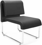 UNO Lounge Chair - PU Black [420-PU606-MFO]