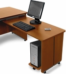 Venice Executive Desk Return for Model 55145 -Cherry [55165-CHY-FS-MFO]