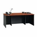 Via 71.5''W Executive Desk - Cherry [401447-FS-SRTA]