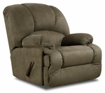 Virginia Transitional Style Polyester Recliner - Glacier Olive [189700-7903-FS-CHEL]