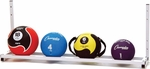Wall Mount Medicine Ball Rack [MBR6-FS-CHS]