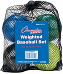 Weighted Training Baseballs [BBWTSET4-FS-CHS]