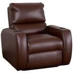 Welbourne Theater Seat in Top Grain Leather [530-WELBOURNE-S1-FS-LTS]