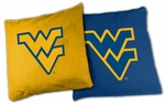 West Virginia Mountaineers XL Bean Bag Set [BB-XL-WVU-FS-TT]