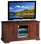 Riley Holliday 50''W x 25''H Westwood TV Stand with Glass Door and Adjustable Center Shelf - Brown Cherry [87350-FS-LCK]