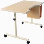 Wheelchair Accessible Work Table with Comfort Curve [KA-4024CR-ADAS]