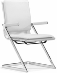 Lider Plus Conference Chair in White [215211-FS-ZUO]