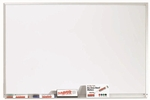 White Porcelain Marker Board with Aluminum Frame - 24''H x 36''W [WDS2436-AA]