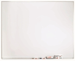 White Porcelain Marker Board with Aluminum Frame - 48''H x 60''W [WDS4860-AA]