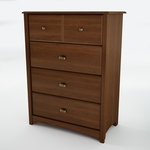 Willow Collection 4 Drawer Chest [3356034-FS-SS]