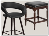 Wood Counter Height Stools