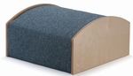 Carpeted Birch Woodscape 20'' Curve Up-Hill [WB1473-FS-WBR]