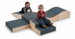 Multi-Configuration Carpeted Woodscapes Hill and Dale Set [WB1440-FS-WBR]