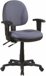 Work Smart Ergonomic Managers Chair - Black [8180-FS-OS]