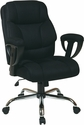 Work Smart Executive Fabric Chairs