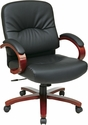 Work Smart Executive Leather Chairs
