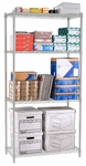 X5 Preconfigured 24'' D x 60'' W Four Shelf Rack - Chrome [X5R-2460-MFO]