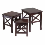 Xola 3-Pc Nesting Table [40333-FS-WWT]